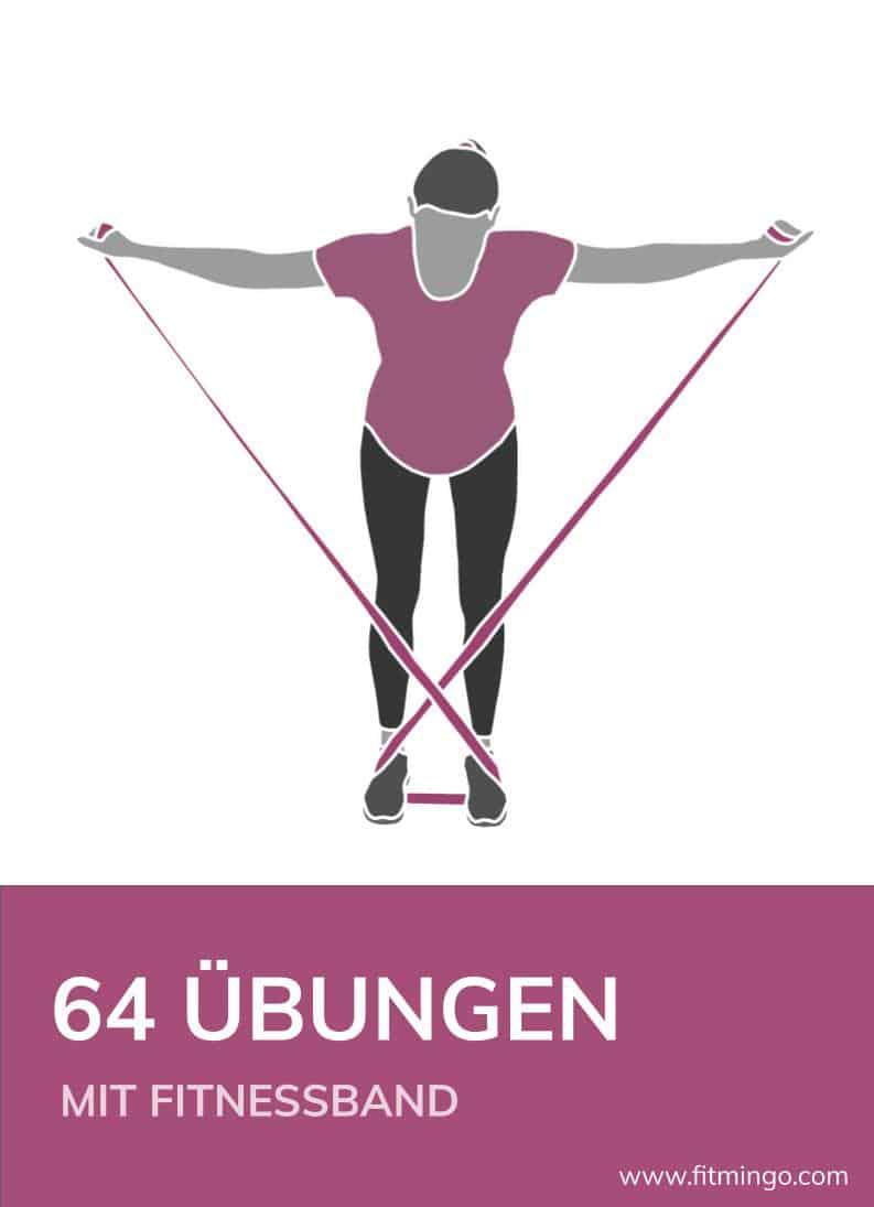64 Übungen mit dem Fitnessband