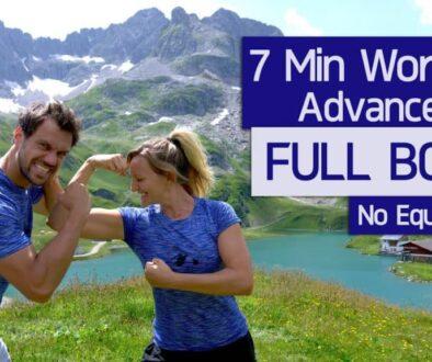 7 Minuten Full Body Workout (für Fortgeschrittene)